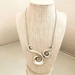 Brighton Genoa Silver Necklace, NWT